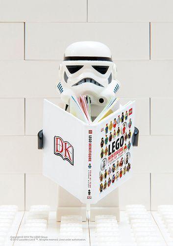 LEGO® Star Wars (TM) Minifigure Stormtrooper www.dk.com/... #DKLEGOBooks