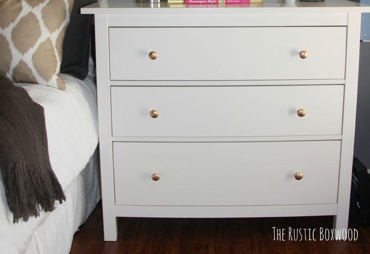 Ikea Hemnes Dresser From Drab To Fab The Rustic