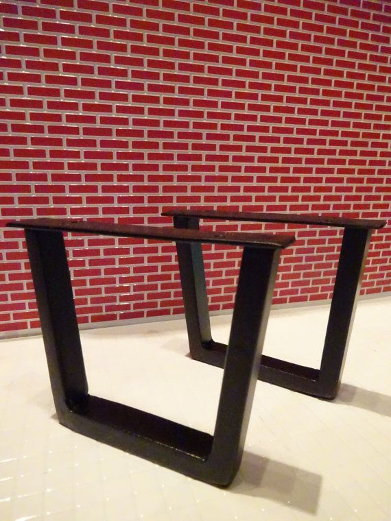 Moosehead Metals is proud to offer these exceptionally crafted steel tube table legs.  Experience for yourself what over 40 years and three generations of welding and fabrication can do for you. IMPORTANT: 2 x 1.5 tubing with heavy duty mounting plate and 10 holes for mounting to table base   Need 2x2 tubing or larger sizes? Message me with the size you need and zip code for a custom quote.       ************TABLE LEVELERS********** FOR TABLES ON UNEVEN SURFACES GET YOUR LEVELERS WELDED…