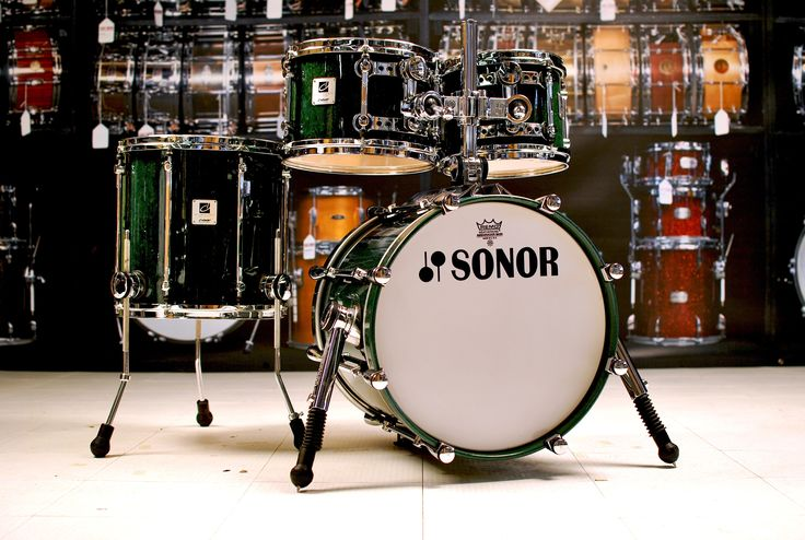 used sonor designer drum set 18 10 12 14 22 drum kits drums used drum sets percussion. Black Bedroom Furniture Sets. Home Design Ideas