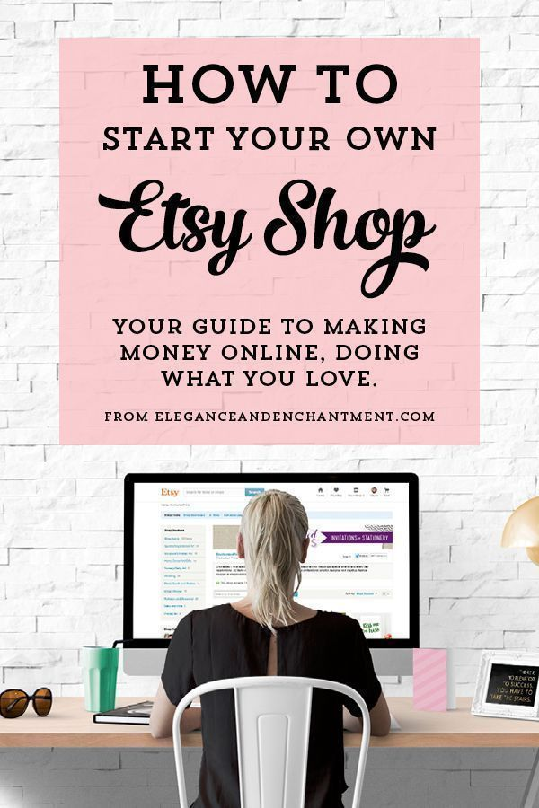 How to Start your own Etsy Shop. 10 Steps to turning your hobby into a business. ༺✿ƬⱤღ✿༻