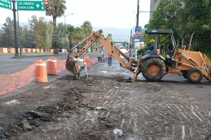 Autoridades municipales de Morelia informan que por los trabajos que se están realizando en el asfaltado del entronque entre el Periférico Paseo de la República y la Avenida Siervo de ...