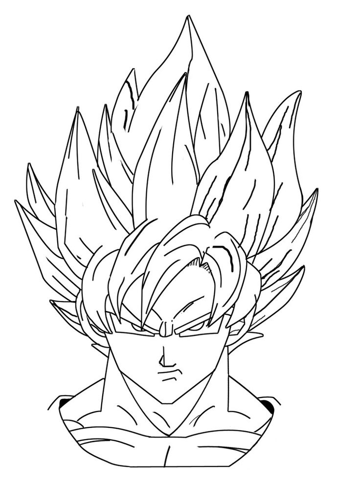 23 best Dragon Ball Z Coloring Pages images on Pinterest ...