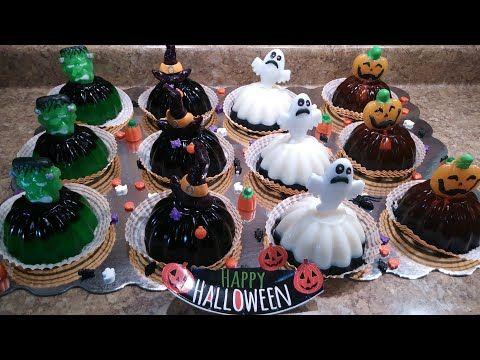 Gelatinas Infantiles con Paleta Individuales para Halloween - YouTube
