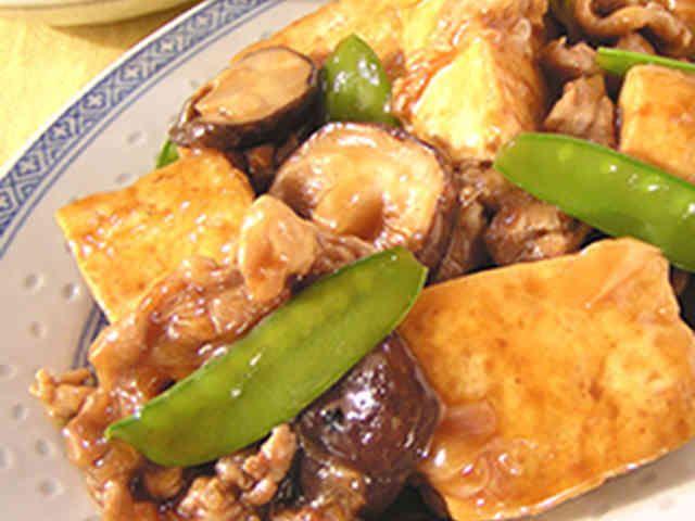 豆腐のオイスターソースの煮込みの画像