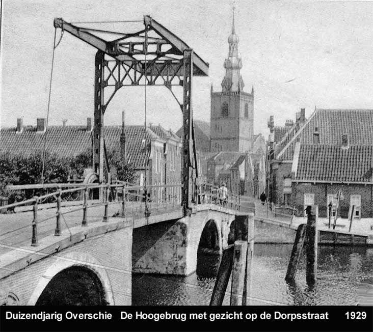 De Hoge Brug - Overschie - 1929.