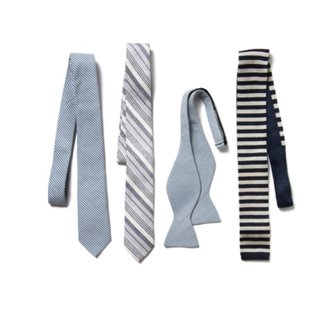 Introduce a summer casual element to your suiting with a twist on the traditional tie.