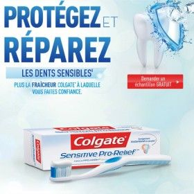 Echantillon gratuit du dentifrice Colgate Sensitive Pro-Relief