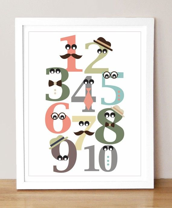 if i had a boy...this would be in his room. this mustache trend is so fun.