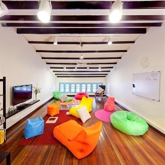 Common Room, Matchbox The Concept Hostel, Singapore