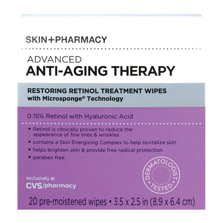 "Skin   Pharmacy Advanced Anti-Aging Restoring Retinol Wipes: A gentle form of retinol in an easy-to-swipe-on pad, it's ""not the least bit drying or irritating,"" notes Dr. Fusco."