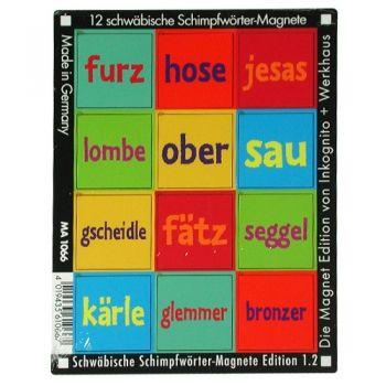 Werkhaus Shop - Schwäbische Schimpfwörter - Edition 1.2