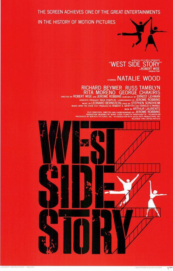 best west side story ideas west side story  saul bass anatomy of a poster west side story