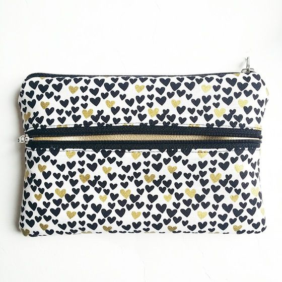 Image of Pretty Smart Pouch cuori