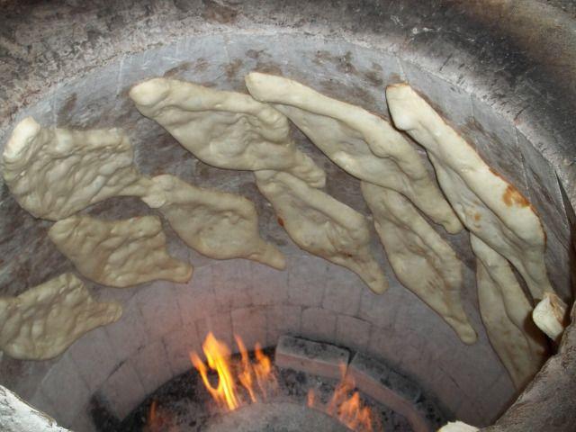 Georgian Bread Making - Bread Baking in Tone