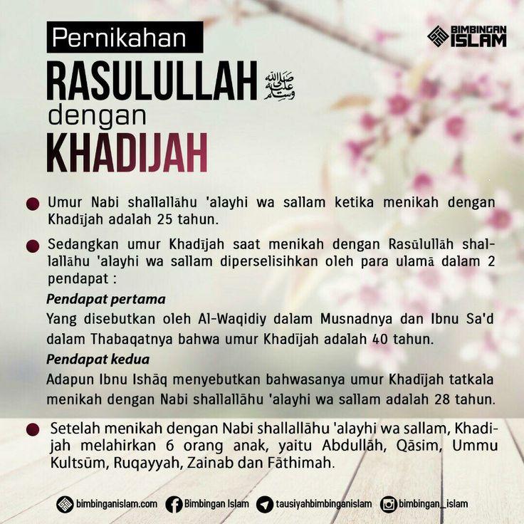 pernikahan rasulullah dengan khadijah...