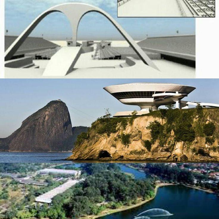 O Instituto do Patrimônio Histórico e Artístico Nacional (IPHAN) por unanimidade incluiu 3 obras de Oscar Niemeyer no registro de bens protegidos. São elas: o Sambódromo (RJ) o Museu de Arte Contemporânea de Niterói e o conjunto de edificações projetadas para o Parque Ibirapuera de S.Paulo.  #olhardemahel #iphan #arquitetura #oscarniemeyer #arquiteturaedesign #patrimoniocultural #instagram #news  #pacontecimentos #instanews
