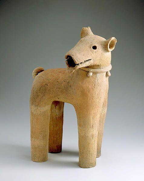埴輪 見返りの犬