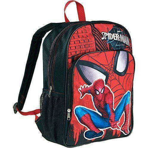 Pre School Travel Student Bags Backpackx Spider-Man For Kids Boys Children NEW #SchoolTravelStudentBagBackpackSpiderMan #Backpack