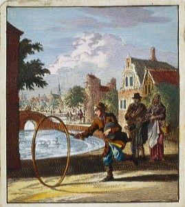 Puzzel Hoepelspel : 25 stukken Oud Hollandse kinderspelen http://blog.amsterdammuseum.nl/?p=7412