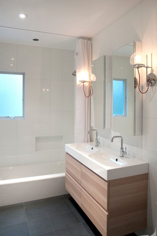 Pics Of House Renovation contemporary Bathroom New York nm design house
