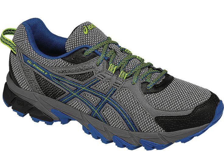 ASICS Men's GEL-Sonoma 2 Running Shoes T634N #ASICS #RunningCrossTraining