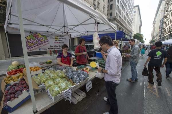 Farmers Markets: Downtown L.A. gets a Sunday market