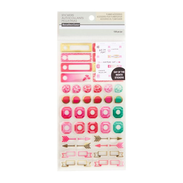 Get the warm clear day of the month stickers by recollections at michaels com