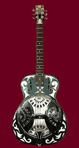 get good at guitar--- and play/ purchase a resonator guitar.... preferably this one ^^^.