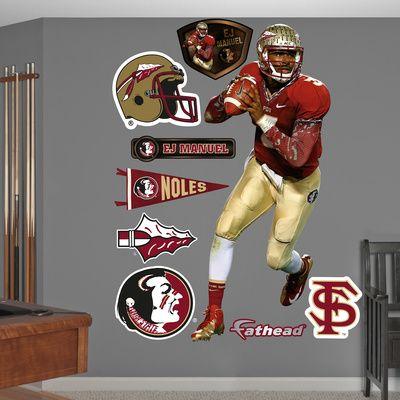 NCAA/NFLPA EJ Manuel Florida State Seminoles 2013 Wall Decal Sticker