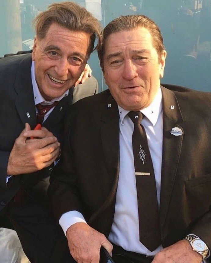 Men S Fashion Style On Instagram Al Pacino And Robert De Niro