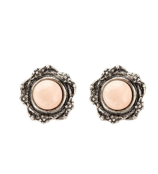 Women ROUND&ROUND THE GARDEN STUD Earring Ear Stud Perfect Gift *FREE Shipping