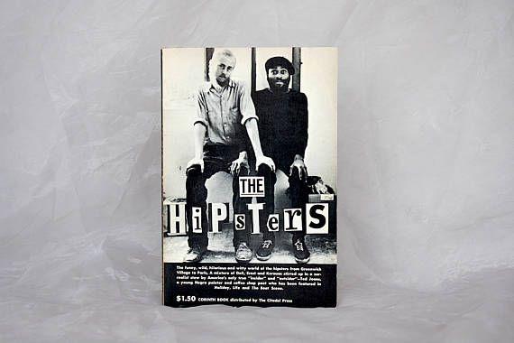Hipster Gift Book  Greenwich Village  Hipster Joke Gift