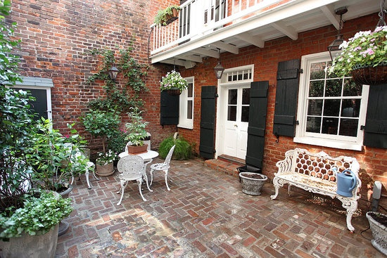 16 best driveway images on pinterest driveway ideas for New orleans style house plans courtyard