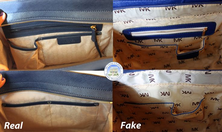 Michael Kors Selma Fake Vs Real Comparison All About