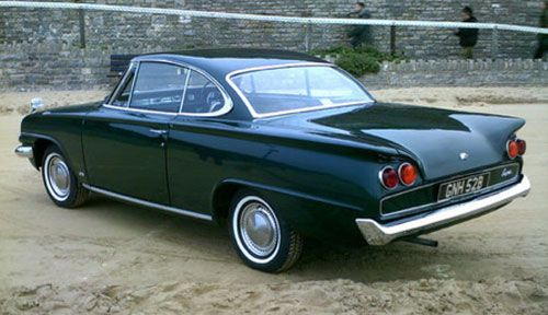 """A very British take on Americana with this 1964 Ford Consul Capri"""