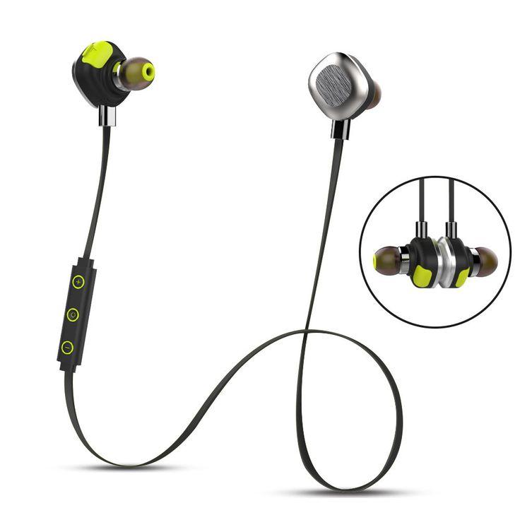 Origina U5 Plus IPX7 Waterproof  With NFC Earphone Wireless Headphones Bluetooth Headset With Mic For Iphone xiaomi Huawei