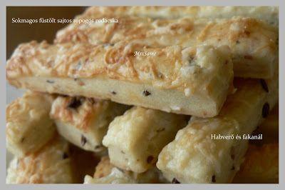 Habverő és fakanál: Sokmagos- füstölt sajtos ropogós sajtos rúd