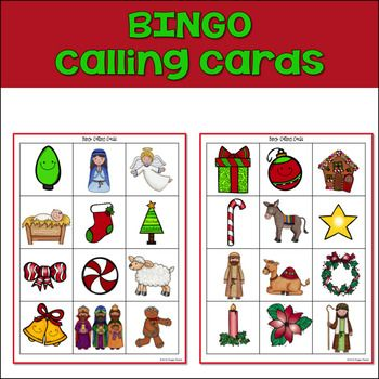 Nativity Christmas Bingo Are you looking for a fun game for your Christian Classroom or Sunday School class? This sweet Nativity Bingo is sure to spark precious discussions and appreciation for God's Greatest Gift!