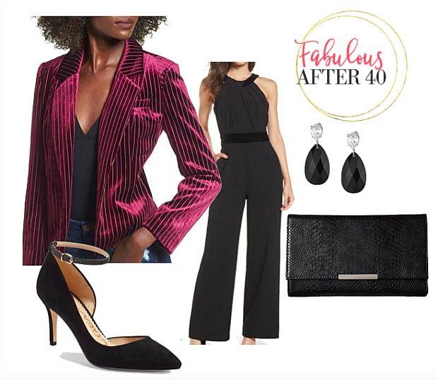Sophisticated Velvet Blazer Styled Two Ways \u2013