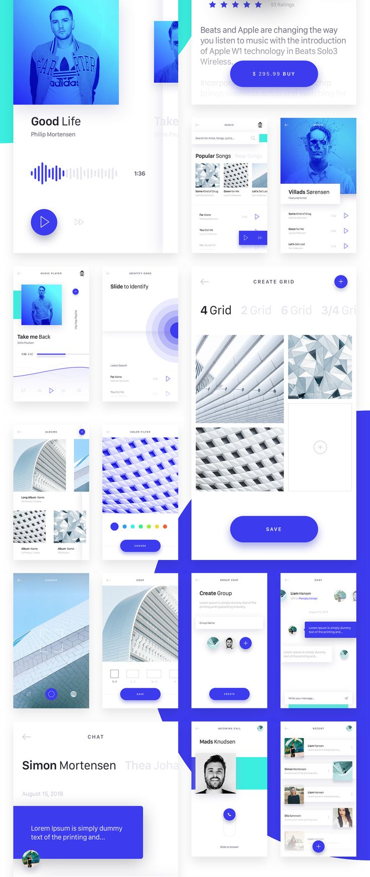 Brake is UI Kit with more than 50 app screens in 10 categories. Each screen is fully customizable, exceptionally easy to use and carefully layered and grouped in Sketch app. It's all you need for quick prototype, design and develops any iOS app in Sketch. You can use it for designing social network apps, dashboard & stats apps, media & news apps (blogs, videos, galleries...), e-commerce apps (shop, store), booking apps, music and much more... In download folder you will find also ...