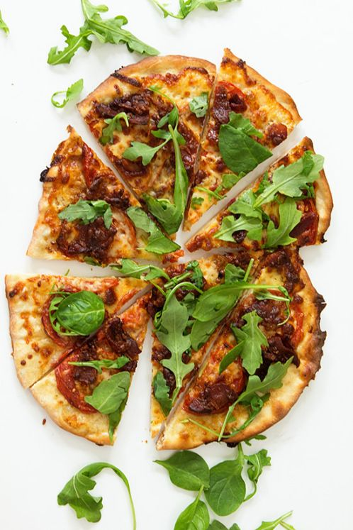about Blt pizza on Pinterest | Mini pizza starters, Alfredo's pizza ...