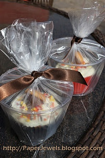 great way to package cuppy cakes