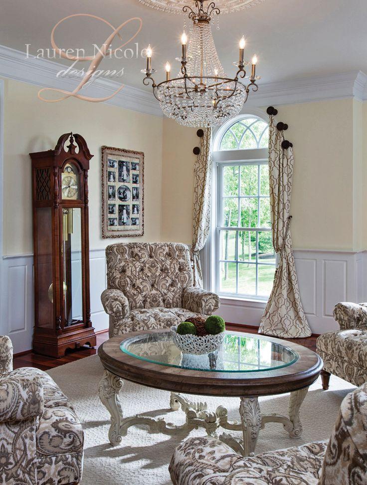 Amazing Lauren Nicole Designs   #LivingRoom Interior Design #Decor Charlotte NC