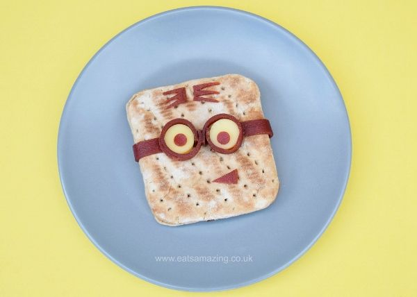 Minion Sandwich Tutorial and Minion Bento Lunch - Healthy fun food for kids from Eats Amazing UK