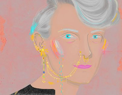 """Check out new work on my @Behance portfolio: """"Tilda"""" http://on.be.net/1OLb2RR"""