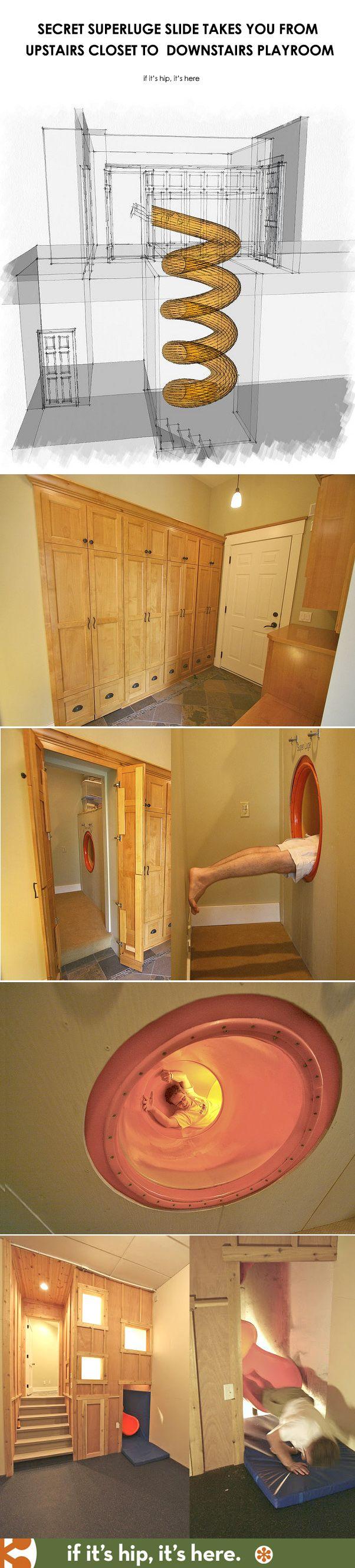 Secret SuperLuge Indoor Slide
