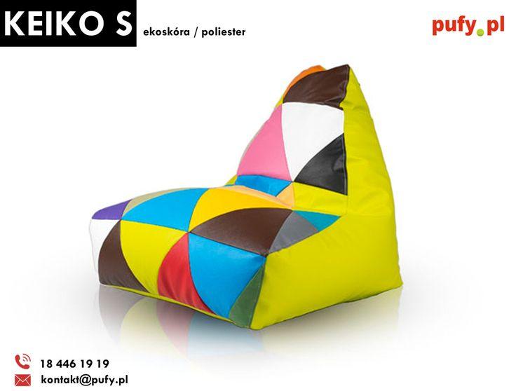 Popularny kolorowy Mix dostępny także w wariancie fotela Keiko S w ekoskórze!  http://pufy.pl/fotele/253-fotel-keiko-s.html  #keikos #keiko #mix #fotelkeiko #keikoekoskóra #ekoskóra #keikomix #kolorowapufa #pokójdziecięcy #pufadladziecka #pufazekoskóry #fotelsako #meblesako #Furini #pufypl