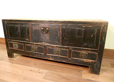 Antique Chinese Ming Cabinet/Coffee Table/TV Stand (5349), Circa 1800
