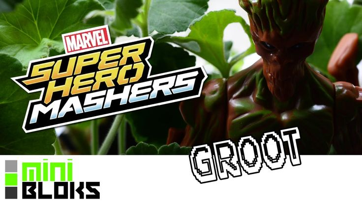 Yes my favourite Guardian - from Marvel's now popular Guardians of the Galaxy - Groot comes to Masher form!  Hasbro has been releasing individual Guardians into their Marvel Superhero Mashers line - and although he's not a new out Figure - being one of my favourite Characters and one of Hasbro's more impressive Mashers - this video needed to happen!  Make sure to check out my Channel over Youtube!  M.B